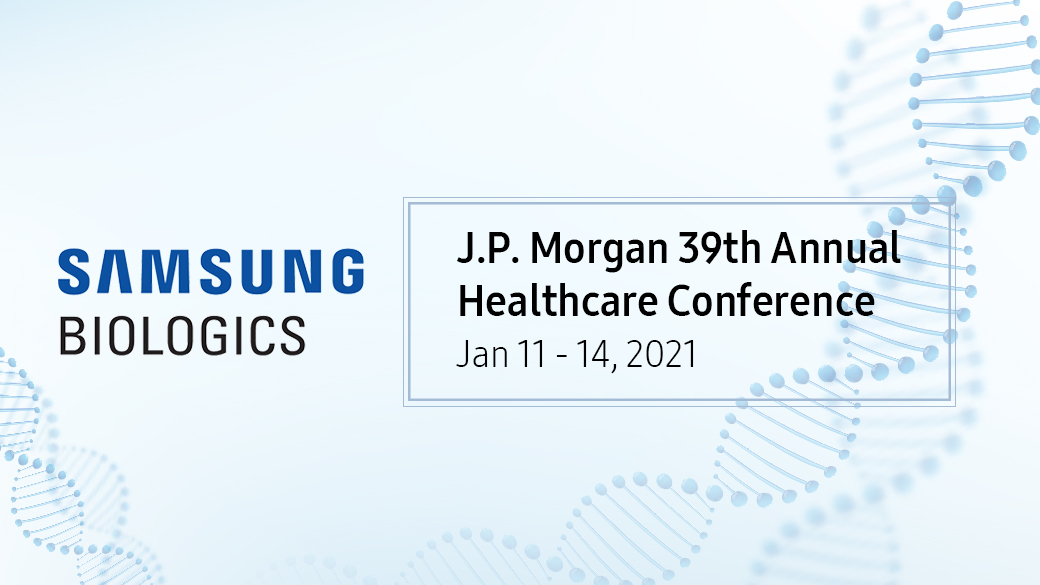 Samsung Biologics to Present at the 39th J.P. Morgan Healthcare Conference