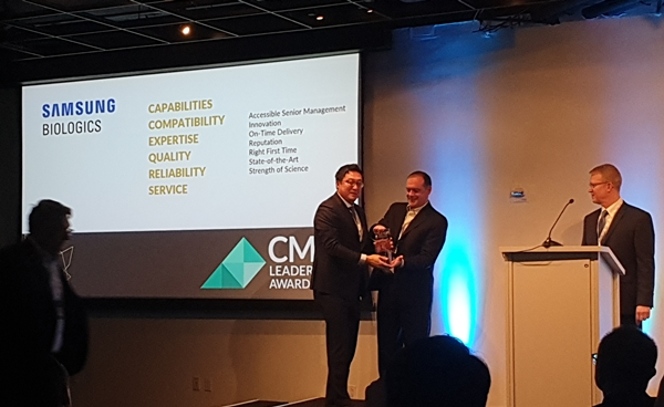 Receiving CMO leadership awards
