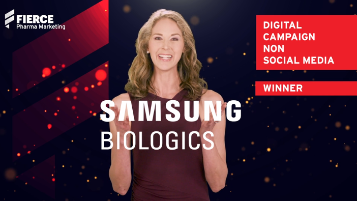 Digital Campaign, Non Social Media: Samsung Biologics' Virtual Exhibition Experience