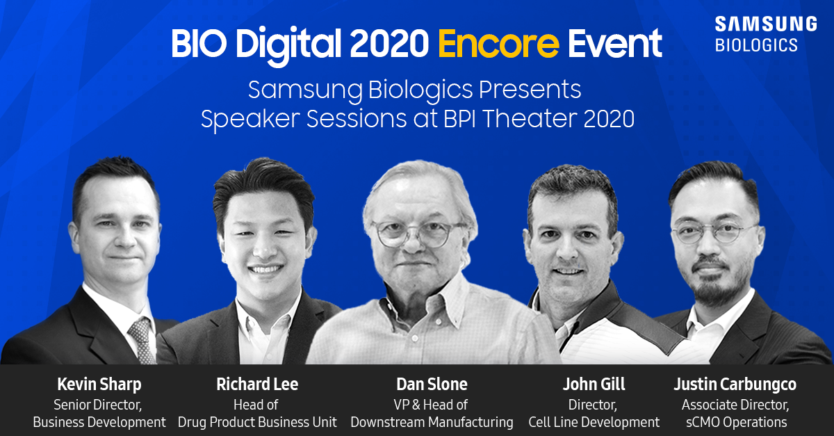 Samsung Biologics Presents at BIO2020 Encore